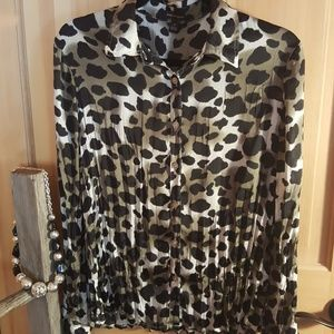 Leopard print Dana Buchanan shirt